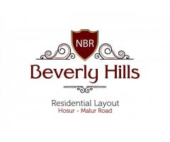 DTCP Approved NBR Beverly Hills 1200 Sq.Ft Villa Plots near Bagalur from Top Realty Company Call 888
