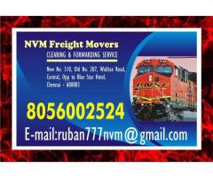 NVM Freight Movers | Chennai Central Stations | door step service | 8056002524 since 1979