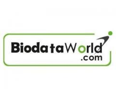 Best placement agency online CV database - biodataworld
