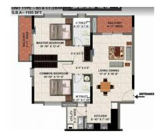 Luxury 2 and 3 BHK Apartments in Valmark