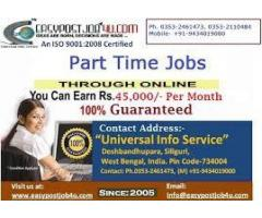 Universal Info Service Online Data Entry Workers Needed