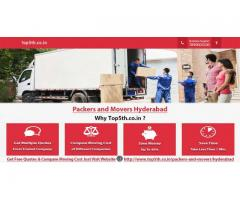 Packers and Movers Hyderabad - Services from Professional Packers and additionally