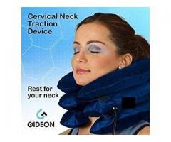 Orthopedic neck traction inflatable neck pillow cervical collar